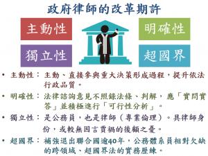 政府律師的改革期許